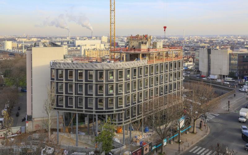 A2 – Immeuble Opalia en R+7 à Paris (75)