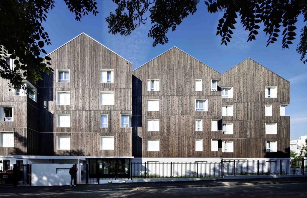 Résidence Sociale - Garges les Gonesses  - LA Architecture