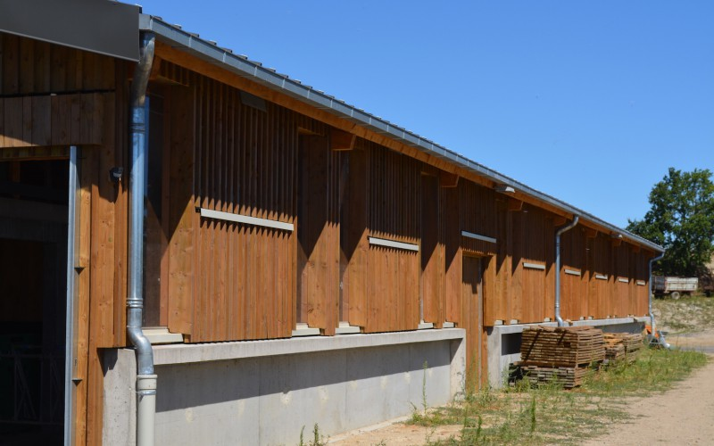 C4 – Fromagerie à Randol : projet en circuit court de Îlot Architecture (63)