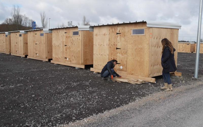 B3- Constructions d'urgence en bois pour MSF