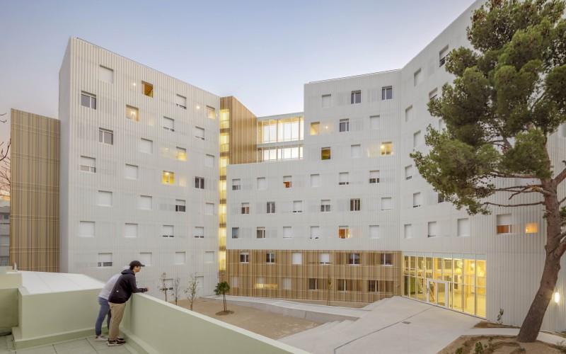 B5- Préfabrication ou 3D : Résidence Lucien Cornil à Marseille
