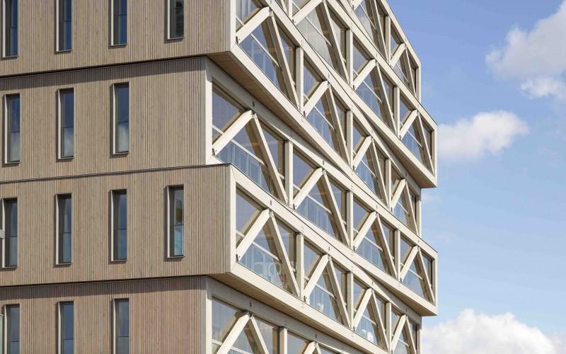 A1- Patch22, 30mètres, immeuble le plus haut des Pays-Bas
