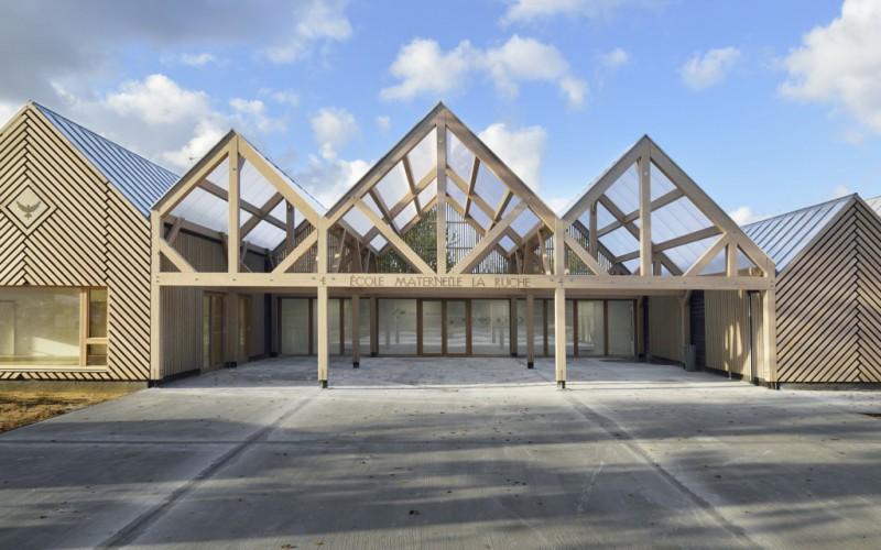 A4 – Ecole Maternelle La Ruche, Perthes-en-Gâtinais