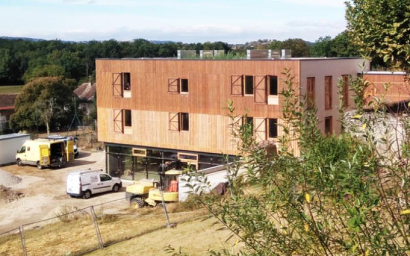 A4 – Espace public novateur en milieu rural, Brangues