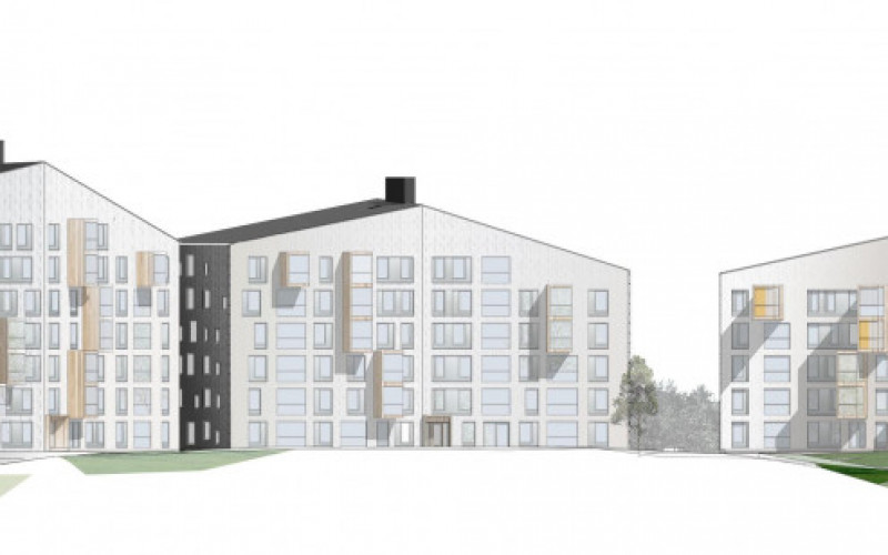 Logements collectifs Puukuokka, Jyväskylä (FI)
