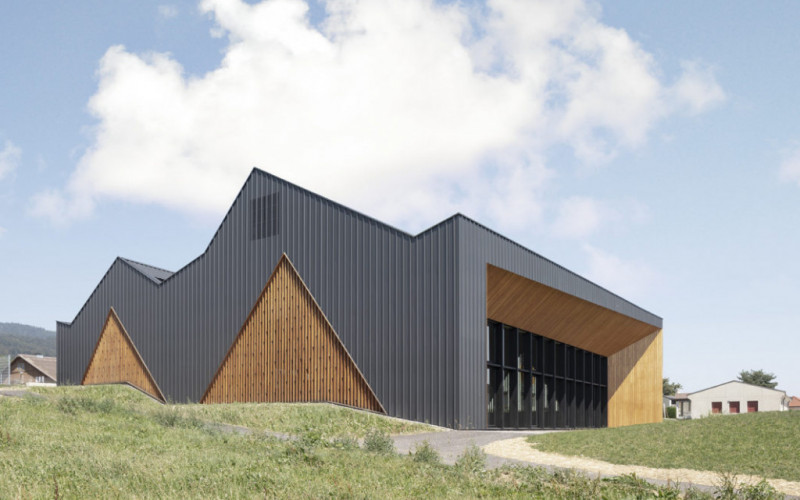 Nominee 1 : Community Building – Polyvalent Hall, Le Vaud (CH)