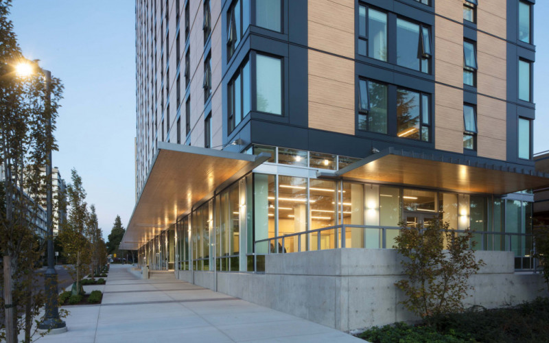 Brock Commons Tallwood House, Vancouver (CA)