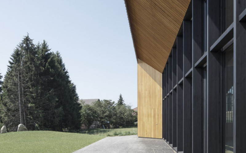 Nominee 1: Community Building – POLYVALENT HALL, Le Vaud (CH)