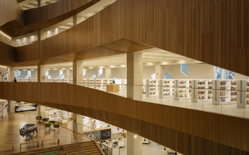 CALGARY CENTRAL LIBRARY, CALGARY (CA)