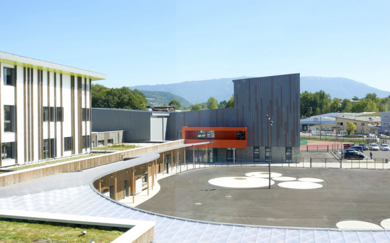 A4 – Collège et gymnase du Chéran, Rumilly