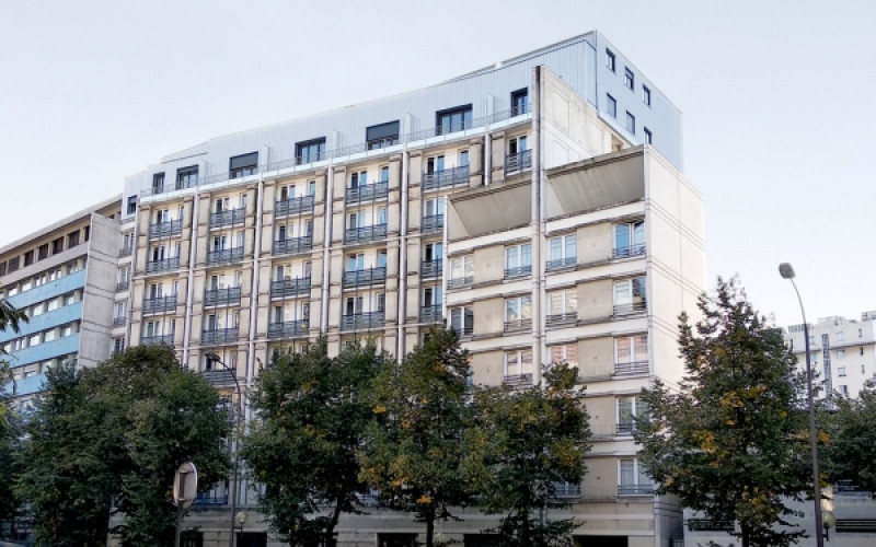 B2 – Surélévation avenue Léon Bollée