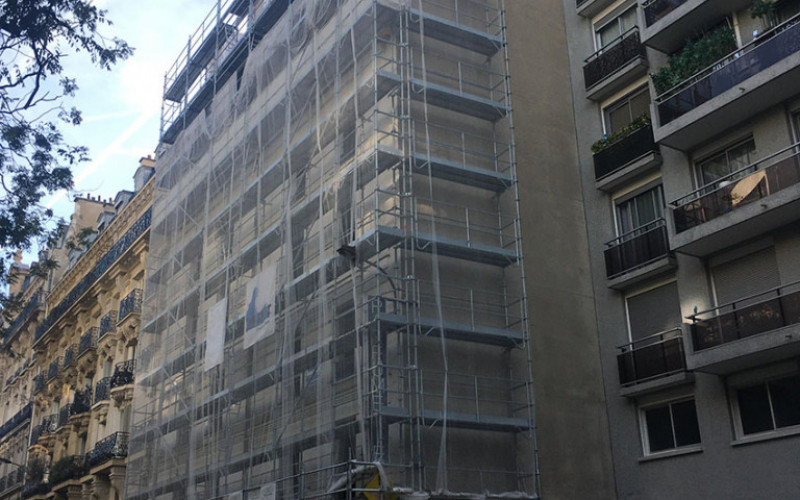 B2 – Surélévation rue Mademoiselle